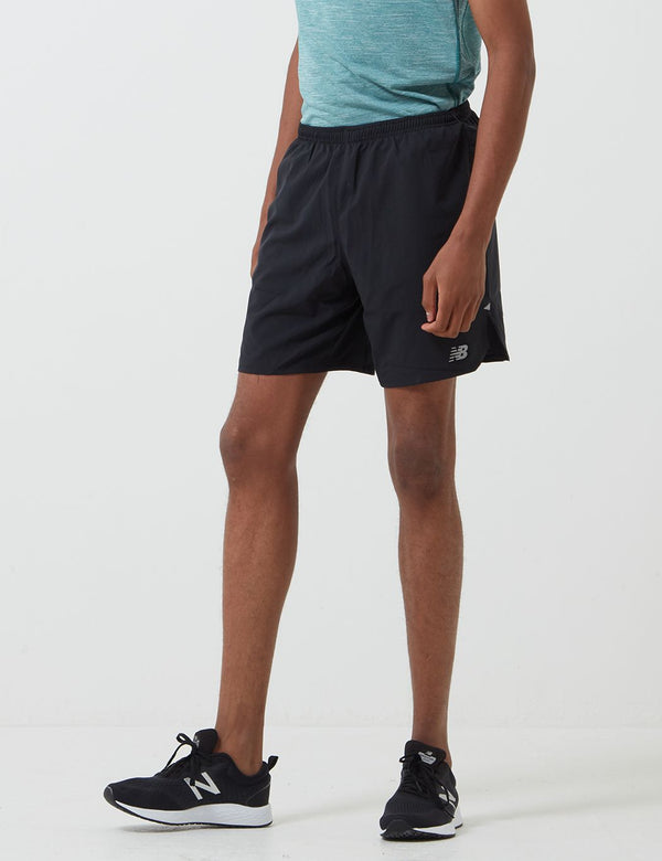 New Balance Impact Run Short (7 Inch) - Black