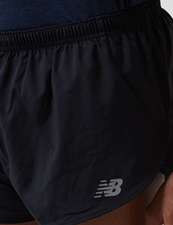 New Balance Accelerate Split Shorts (3 Inch) - Black
