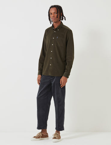 Barbour Cord 1 Tailored Shirt - Forest Green