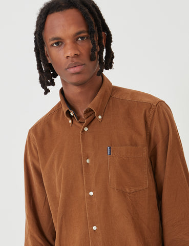Barbour Cord 1 Tailored Shirt - Sandstone Brown