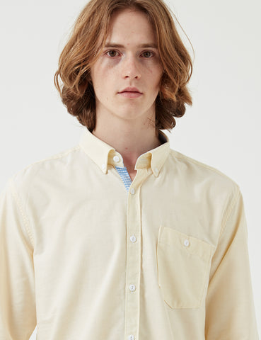 Barbour Grange Shirt - Lemon Yellow