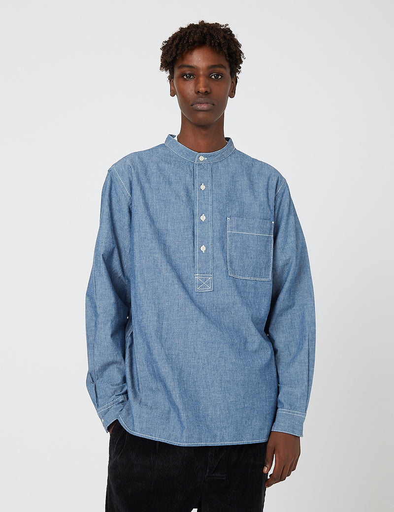 Barbour Redhouse Shirt - Chambray Blue