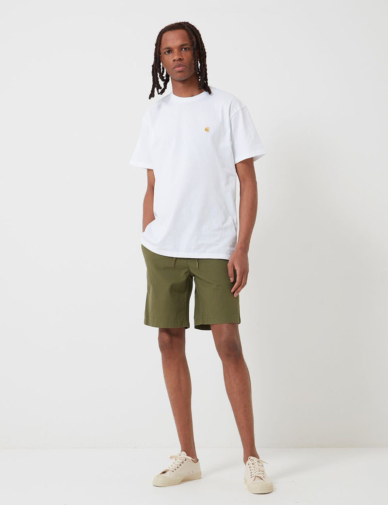 Barbour Bay Ripstop Shorts - Military Green