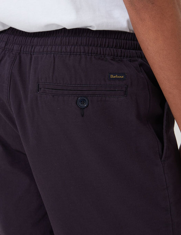 Barbour Bay Ripstop Shorts - Navy Blue