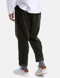 Barbour 'Made for Japan' Cord Rugby Pant - Forest Green