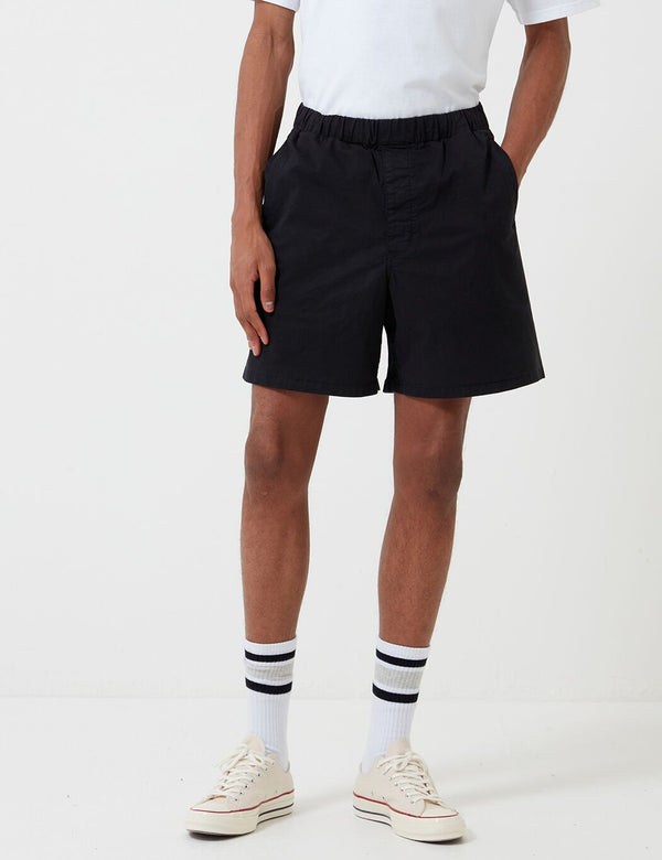 Barbour Cove Twill Short (White Label) - Navy Blue