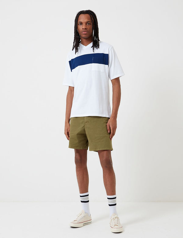 Barbour Cove Twill Short (White Label) - Antique Olive