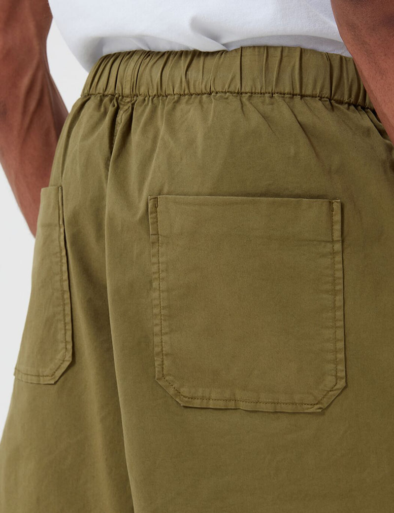 Barbour Cove Twill Short (White Label) - Olive Antique