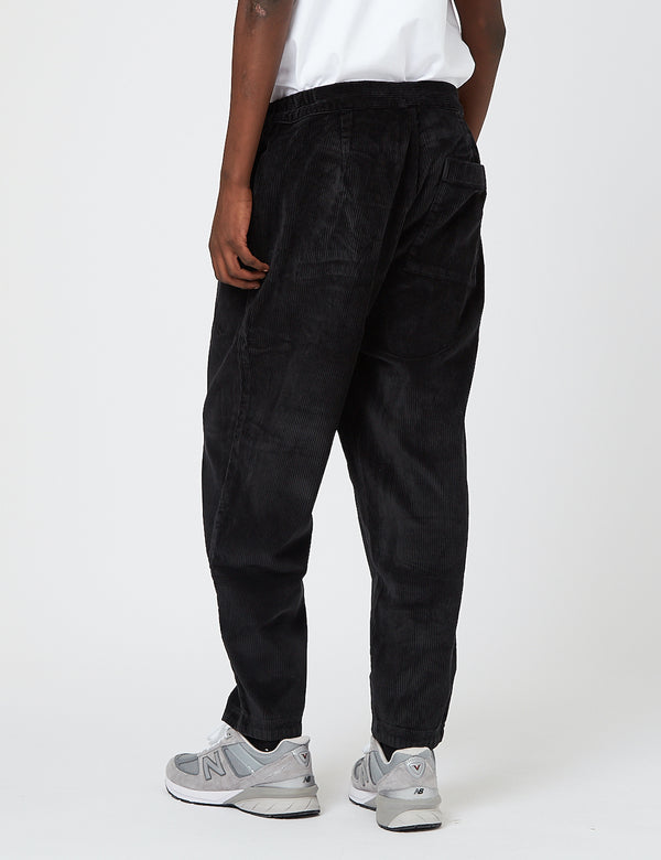 Barbour Jumbo Cord Trousers - Black