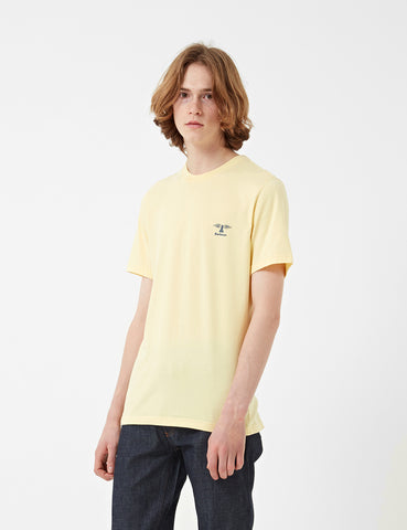 Barbour Standards T-Shirt - Lemon Yellow