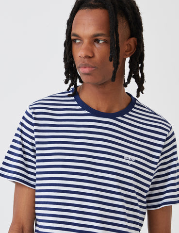 Barbour Delamere Stripe T-shirt - Inky Blue