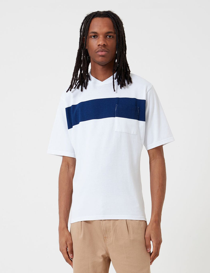 Barbour Seton Pocket T-Shirt (White Label) - White
