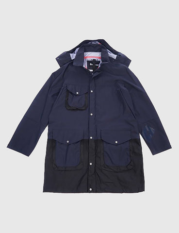 Barbour x Wood Wood Amager Wax Jacket - Navy
