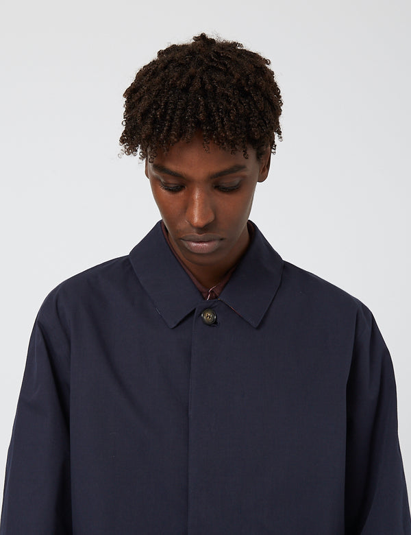 Barbour Lorden Waterproof Jacket - Navy Blue