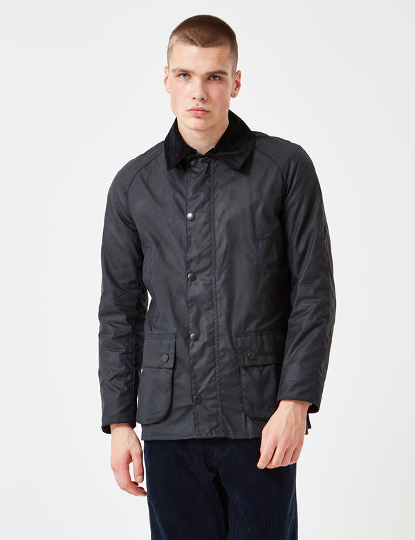 Veste Barbour Ashby Wax - Bleu Marine
