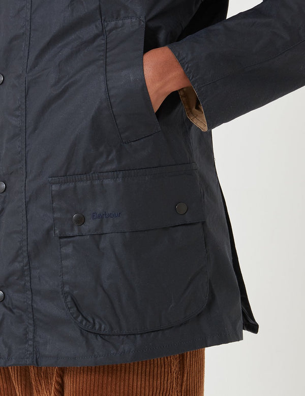 Barbour Leichte Ashby Wachsjacke - Royal Navy Blue