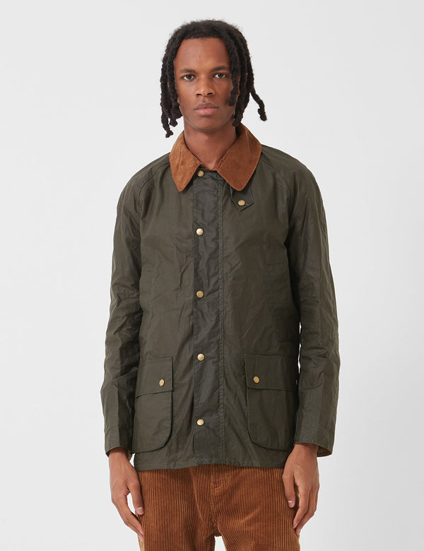Barbour Lightweight Ashby Wax Jacket - Archiv Olive