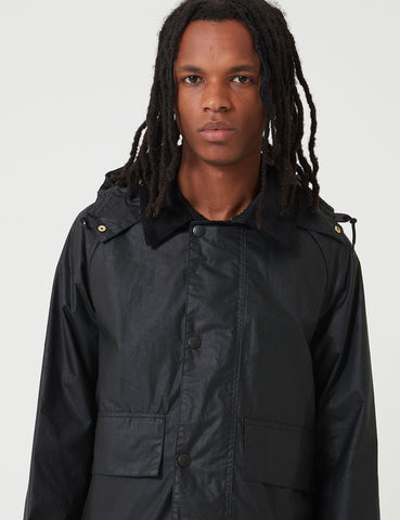 Barbour x Margaret Howell Spey Jacket (Wax) - Black