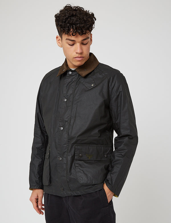 Barbour Beacon Morgan Jacke - Salbei