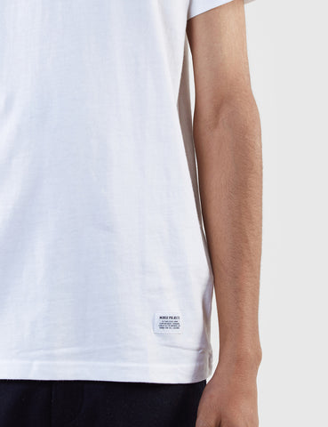 Norse Projects Niels Basic Short Sleeve T-Shirt - White