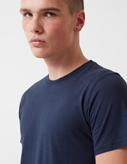 Norse Projects Niels Basic T-Shirt - Navy Blue