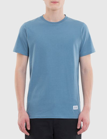 Norse Projects Niels Basic T-Shirt - Marginal Blue