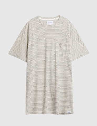 Norse Projects Viktor Pocket T-Shirt - Ecru