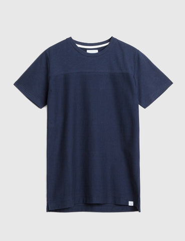 Norse Projects Rasmus Slub T-Shirt - Navy