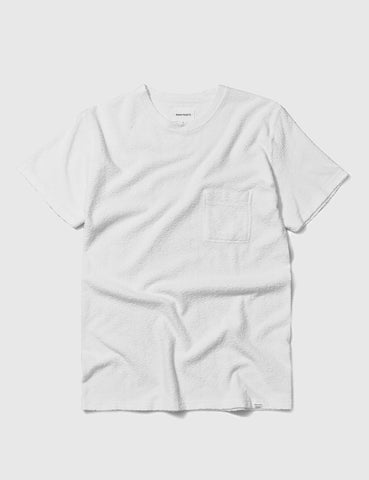 Norse Projects Niels Japanese Pocket T-Shirt - White