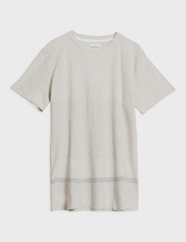 Norse Projects Niels Bubble T-Shirt - Ecru