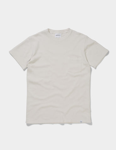 Norse Projects Niels Pique T-Shirt - White
