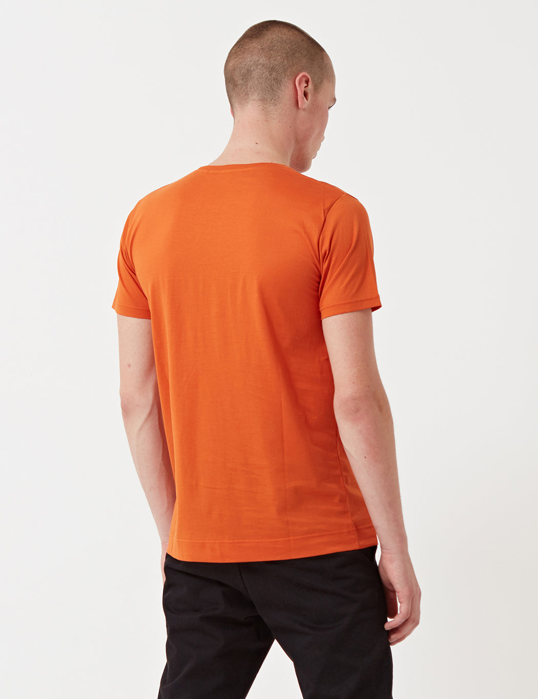 Norse Projects Esben T-Shirt - Ochre Orange