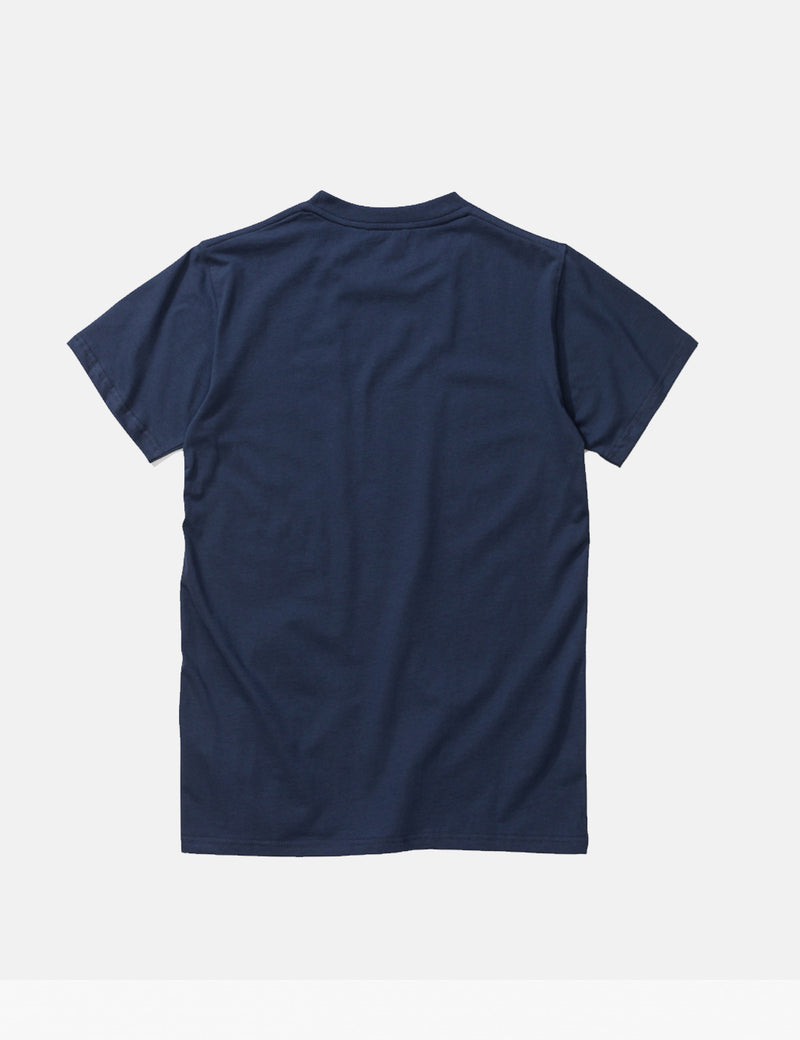 Norse Projects Niels Standard Logo T-Shirt - Navy