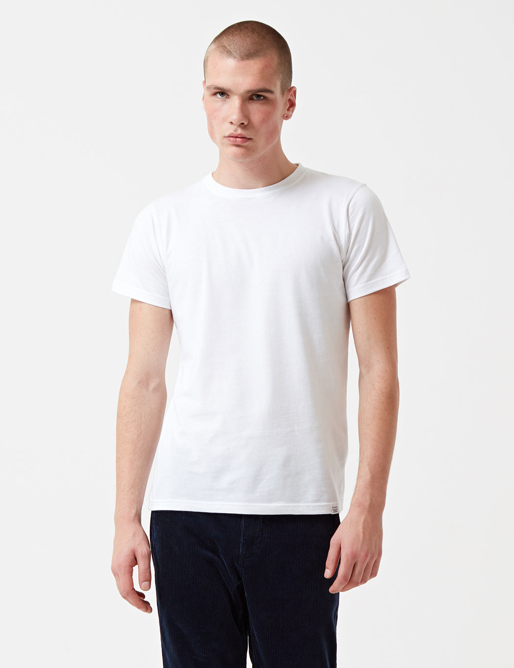 Norse Projects Niels Standard T-Shirt - White | URBAN EXCESS.