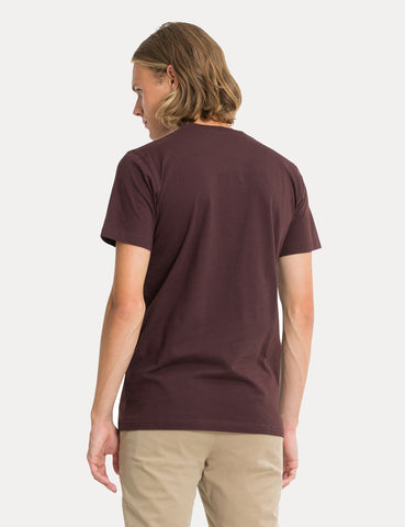 Norse Projects Niels Standard T-Shirt - Eggplant Brown