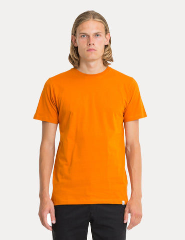Norse Projects Niels Standard T-Shirt - Oxide Orange