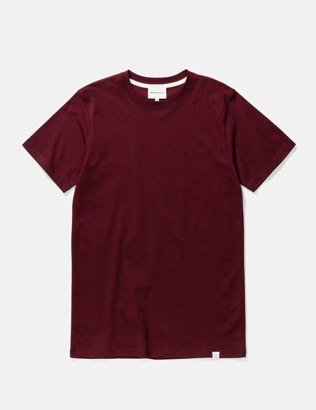 Norse Projects Niels Standard T-Shirt - Mulberry Red | URBAN EXCESS.