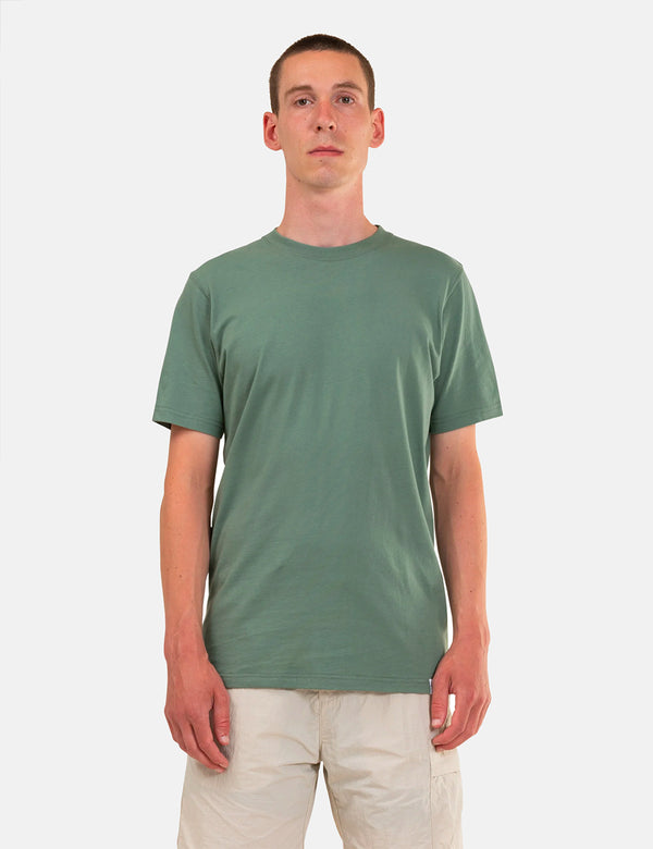 Norse Projects Niels Standard T-Shirt - Moss Green