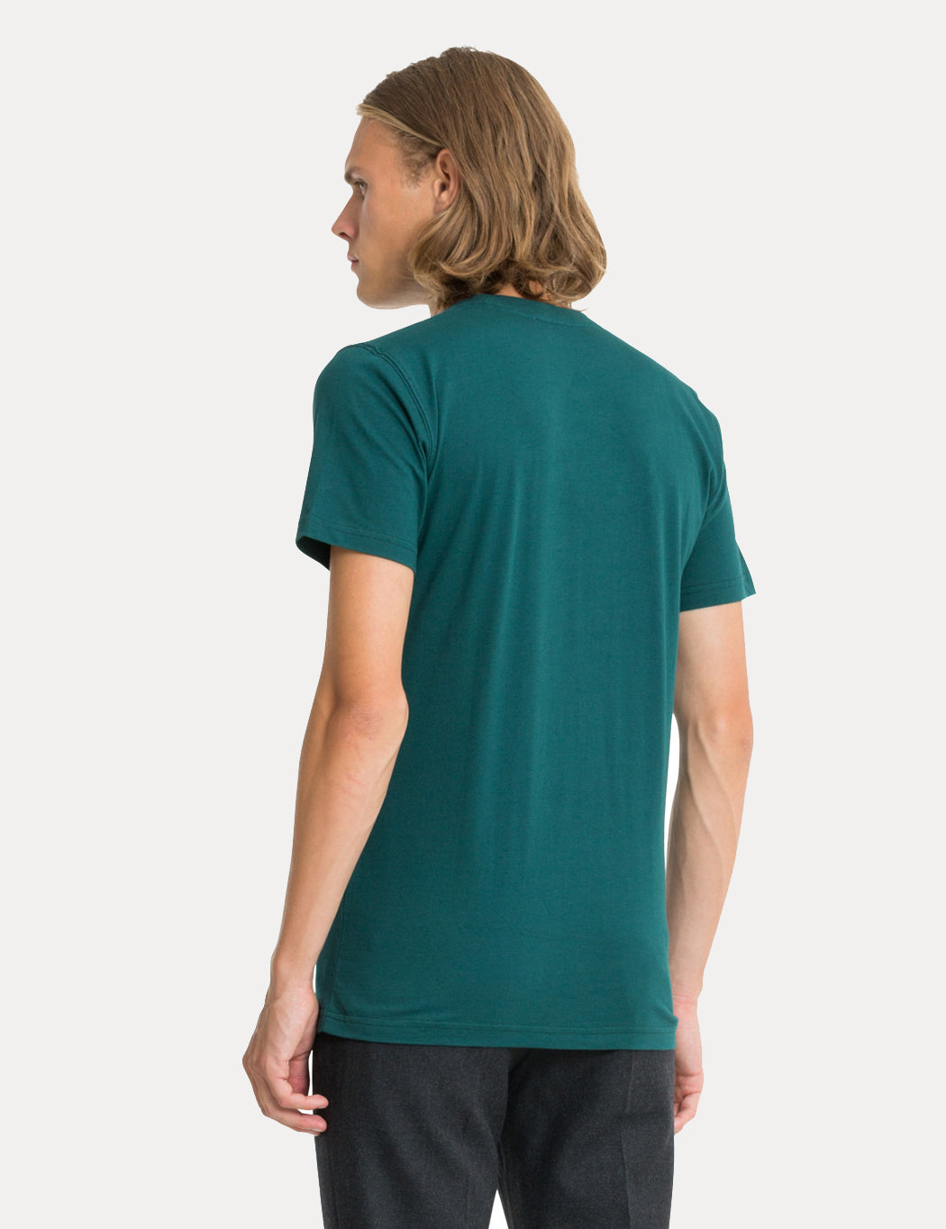 Norse Projects Niels Standard T-Shirt - Quartz Green