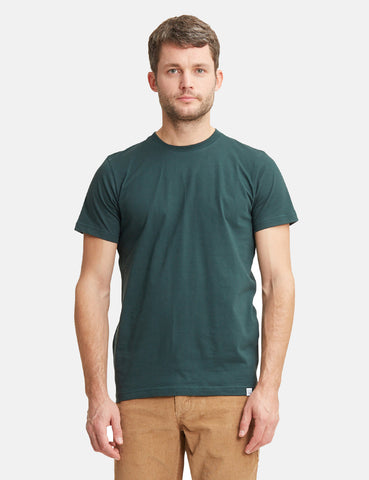 Norse Projects Niels Standard T-Shirt - Spinnaker Green