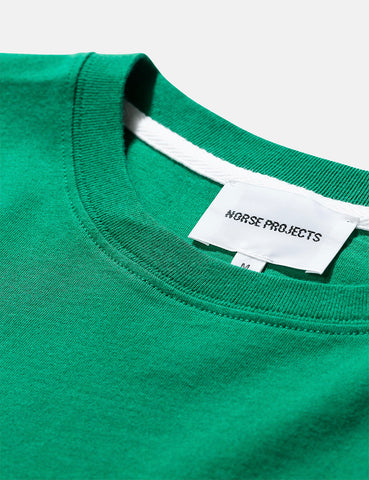 Norse Projects Niels Standard T-Shirt - Sporting Green
