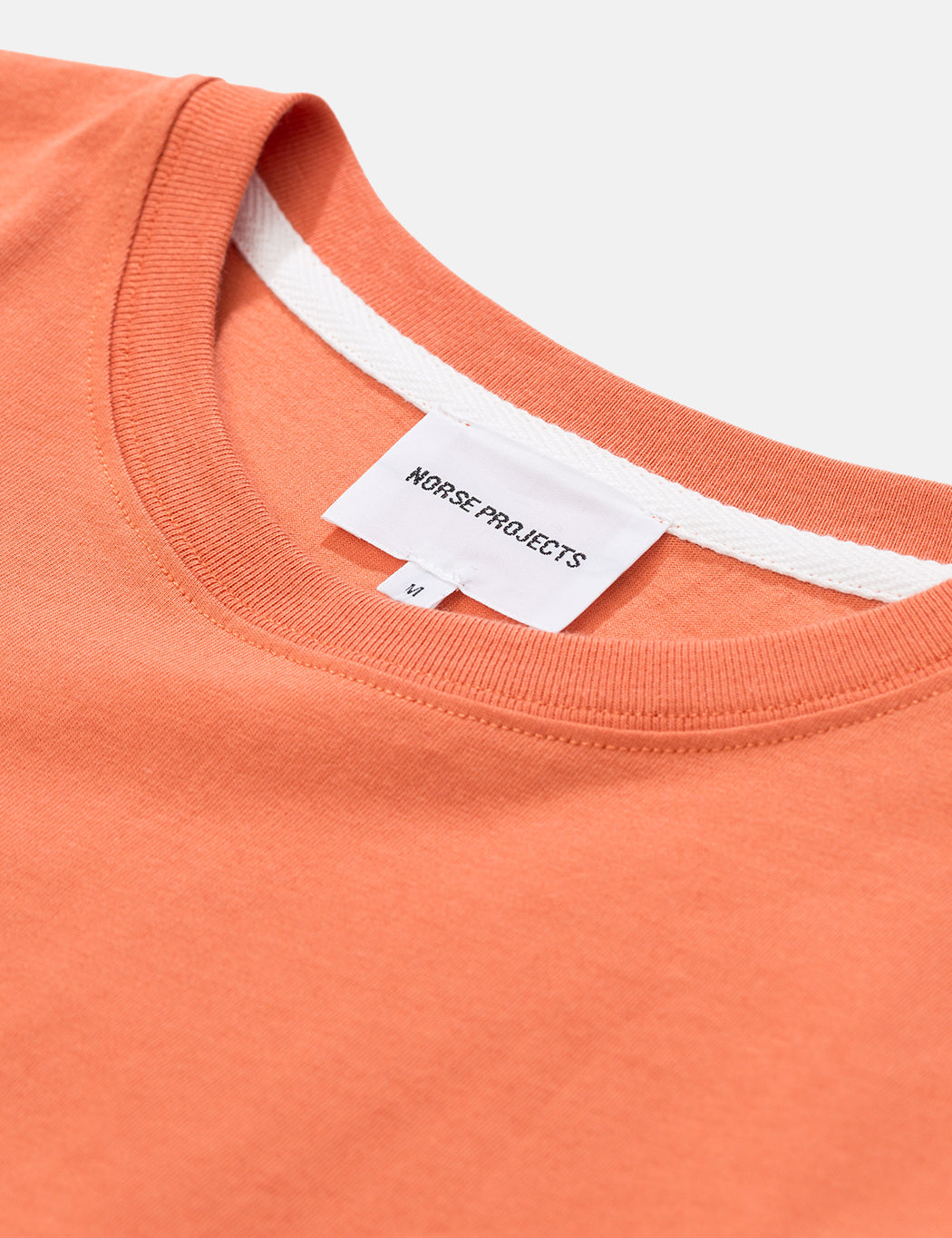 Norse Projects Niels Standard T-Shirt - Burned Red