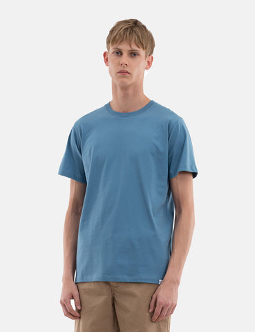 Norse Projects Niels Standard T-Shirt - Cali Blue