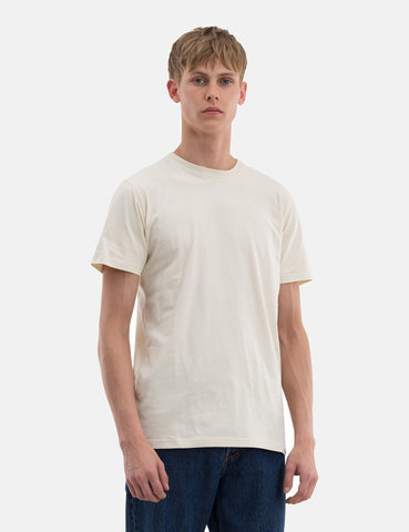 Norse Projects Niels Standard T-Shirt - Kit White