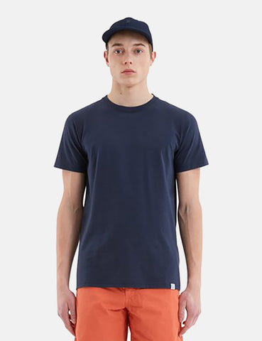 Norse Projects Niels Standard T-Shirt - Dark Navy Blue