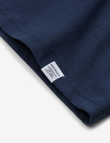 Norse Projects Niels Standard T-Shirt - Navy Blue