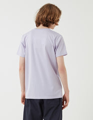 Norse Projects Niels Multi N Logo T-Shirt - Heather Purple