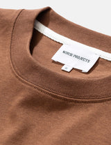 Norse Projects Johannes Pocket T-Shirt - Duck Brown