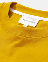 Norse Projects Johannes Pocket T-Shirt - Montpellier Yellow