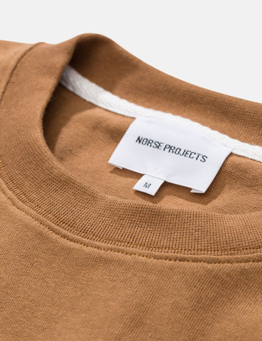 Norse Projects Johannes Pocket T-Shirt - Russet